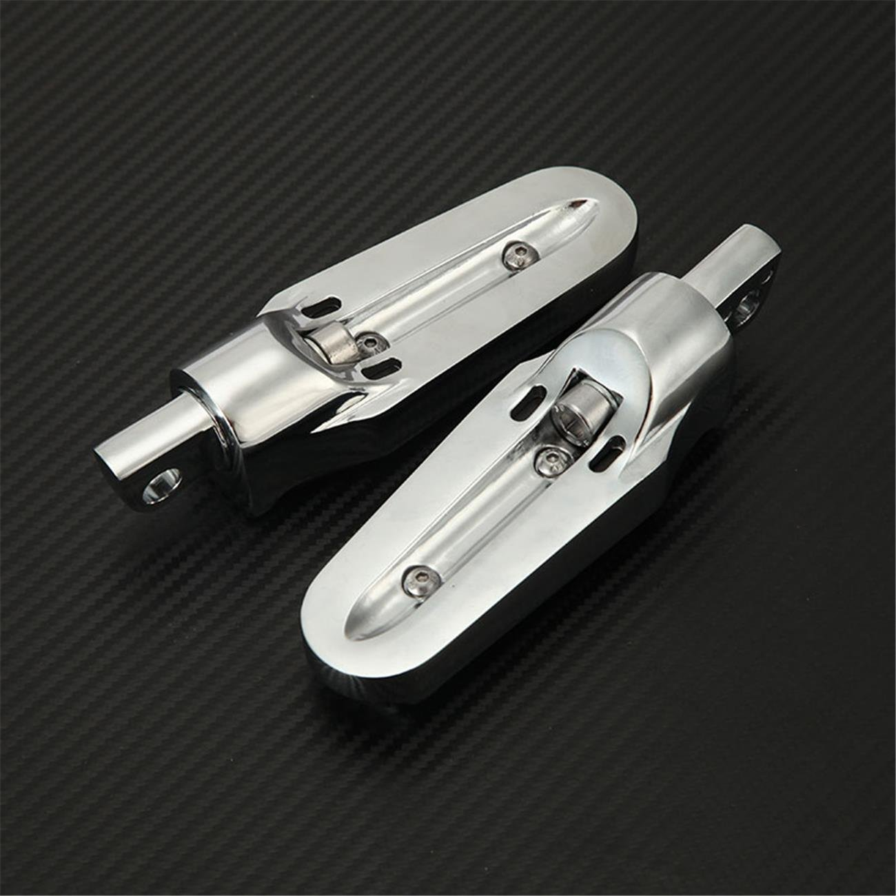 Chrome Motorcycle Footpegs INNOGLOW Front /& Rear Foot Pegs Rests Tombstone Comfort-Ride Passenger Male Mounts Footrests Fit for Harley Davidson XL Sportster V Rod 883 1200