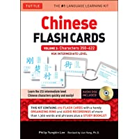Chinese Flash Cards Kit Volume 2 /anglais: HSK Levels 3 & 4 Intermediate Level: Characters 350-622 (Audio CD Included)