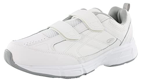mens wide velcro sneakers