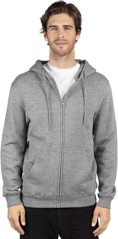 Threadfast Apparel Unisex Ultimate Fleece Full-Zip Hooded Sweatshirt
