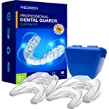 NEOMEN Health Professional Dental Guard - Pack of 4 - New Upgraded Anti Grinding Dental Night Guard Stops Bruxism Tmj…