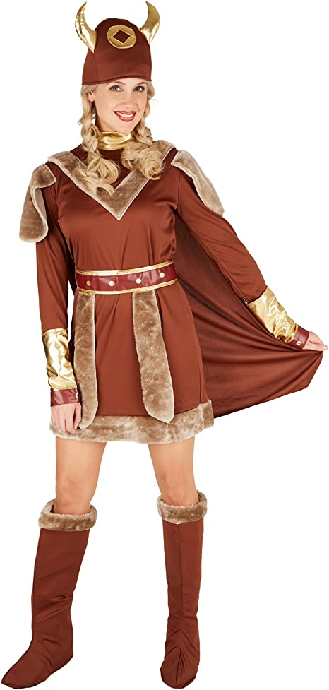 TecTake dressforfun Disfraz para Mujer Vikinga | Precioso Vestido ...