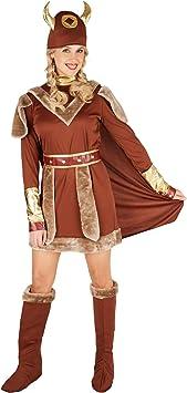 TecTake dressforfun Disfraz para Mujer Vikinga   Precioso Vestido ...