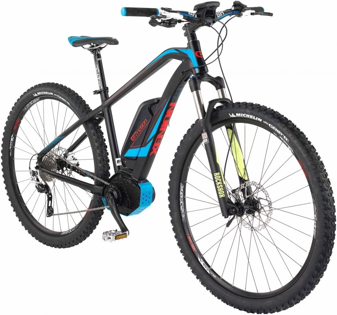 BH-Bicicleta eléctrica EMOTION-2016 Xenion 29 L: Amazon.es ...