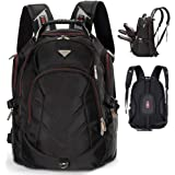FreeBiz 18.4 Inches to 19 Inches Laptop Notebook Backpack Fits up to 18.4 and 19 Inches Travel Backpack Rucksack (Black)