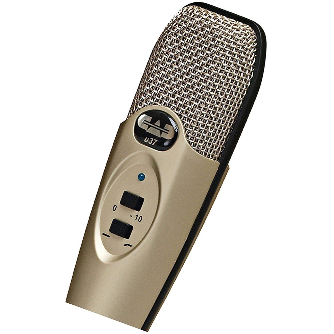 CAD U37 USB Studio Condenser Recording Microphone by CAD