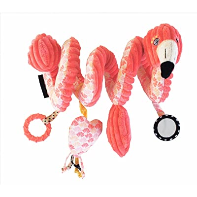 Les Deglingos Spiral Toy Flamingos The Flamingo : Baby