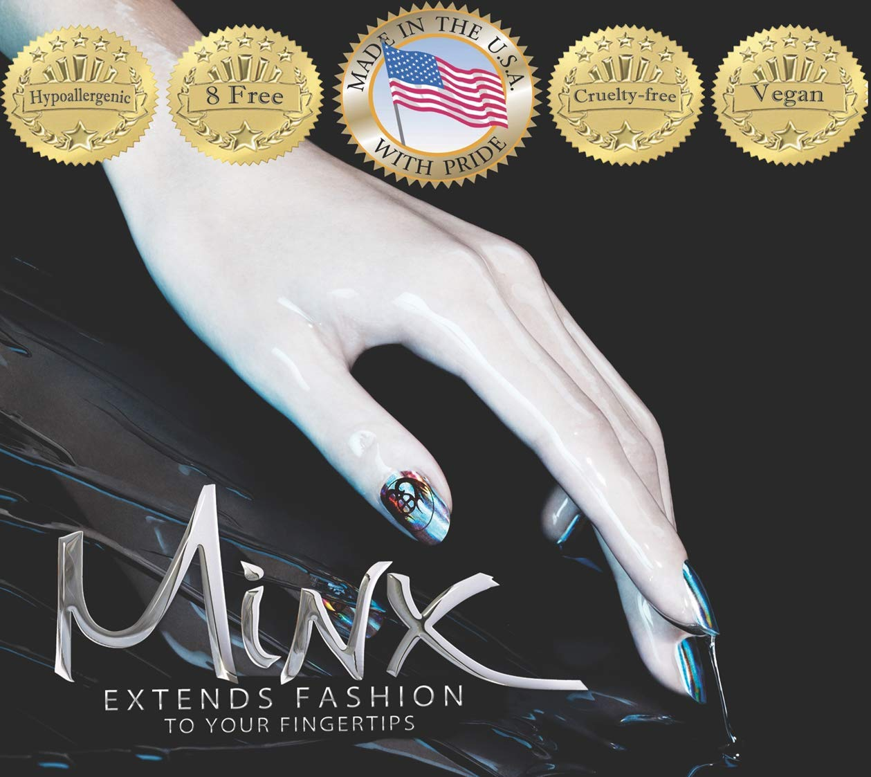 MINX Snake Me Away Nail Wraps by Minx