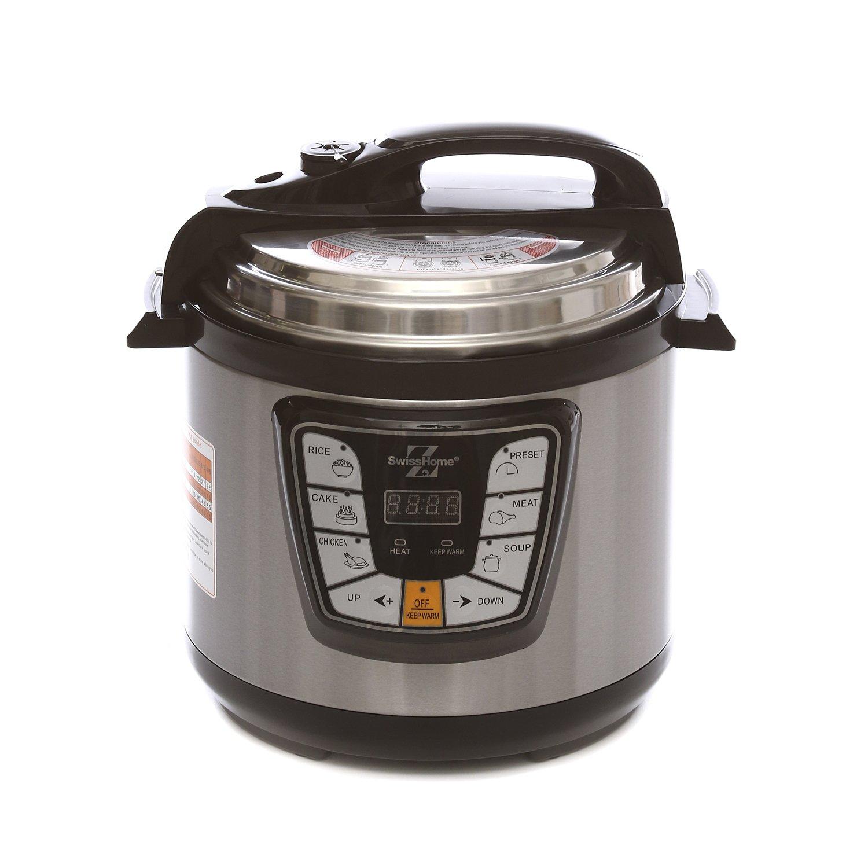 Pentola a pressione elettrica da 6 litri KASANOVA 18 X 18 inch