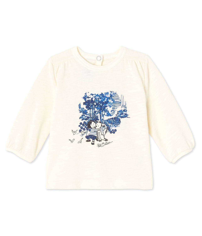 Camiseta de Manga Larga para Beb/és Petit Bateau Did