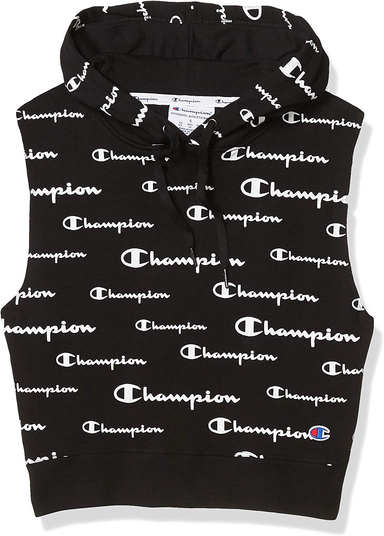 Champion Womens Campus Sleeveless Hoodie