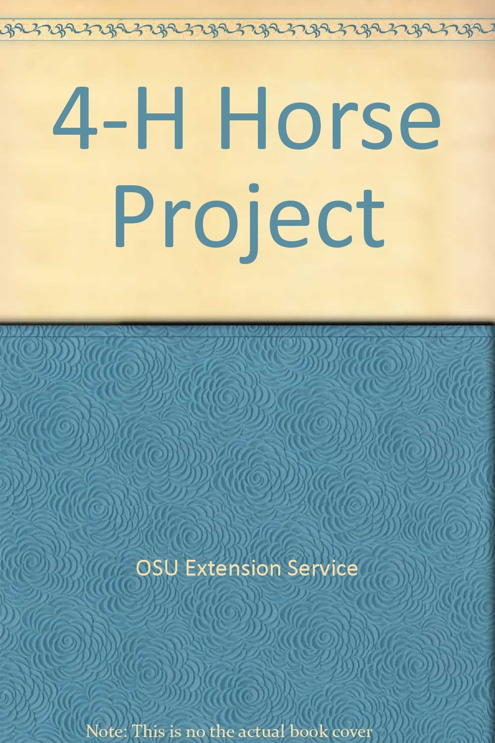 4-H Horse Project