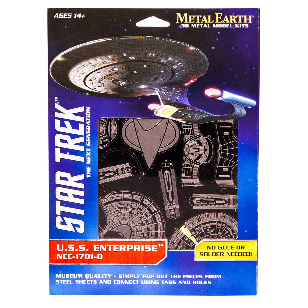 U.S.S Enterprise NCC 1701 D Metal Earth 3D Metall Bausatz MMS281 Neu