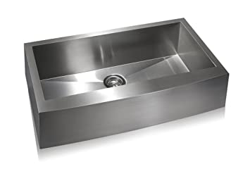 Lenova SS-AP-S36 Apron Stainless Steel Single Bowl Under-Mount ...