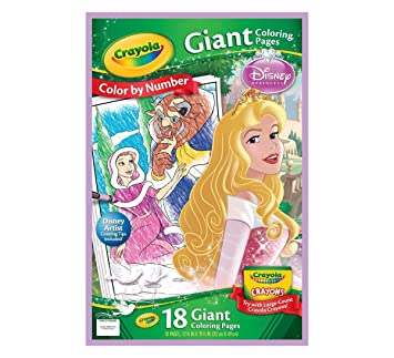 Crayola Giant Coloring Pages Disney Princess Amazoncouk Toys