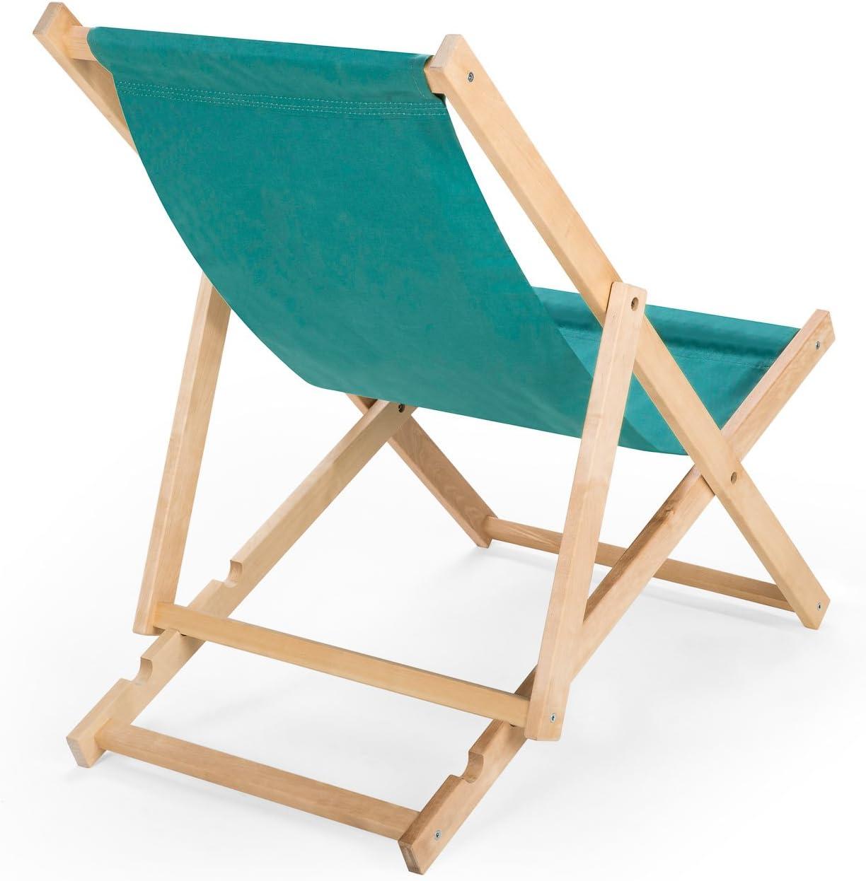 Chaise longue en bois N//2