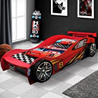 New Model McLaren Kids Children Racing Car Night Bed for Boy with Drawer in Red