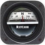 1 - Ritchie V-527 Kayak Compass - Bulkhead Mount - White Dial