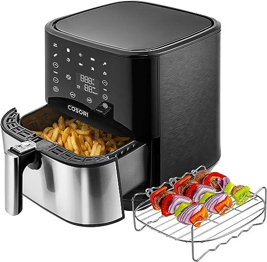 Amazon.com: Freidora de aire COSORI (100 recetas, estante y ...