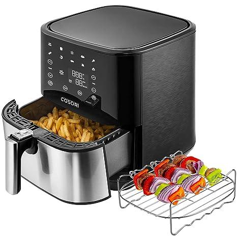 Amazon.com: Freidora de aire COSORI 100 recetas y estante, 5 ...