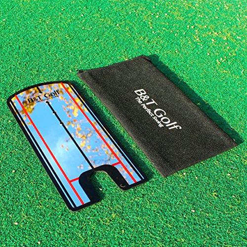 Golf Putting Alignment Mirror Training Aid - Practice Your Putting Alignment Tool by B&T Golf (Image #2)
