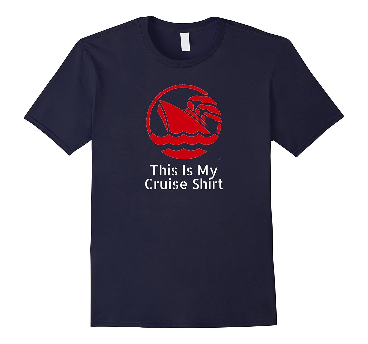 This Is My Cruise Shirt Funny Vacation T-Shirt-Samdetee