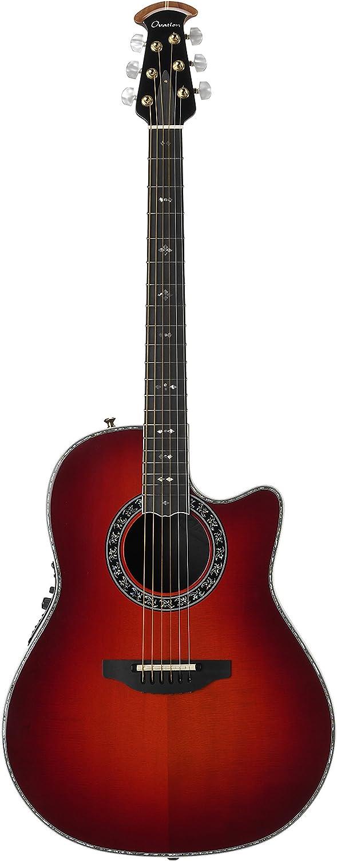 Ovation c2079lx-ccb Custom Legend Lx Electroacústica guitarra, Cherry Cherry Burst