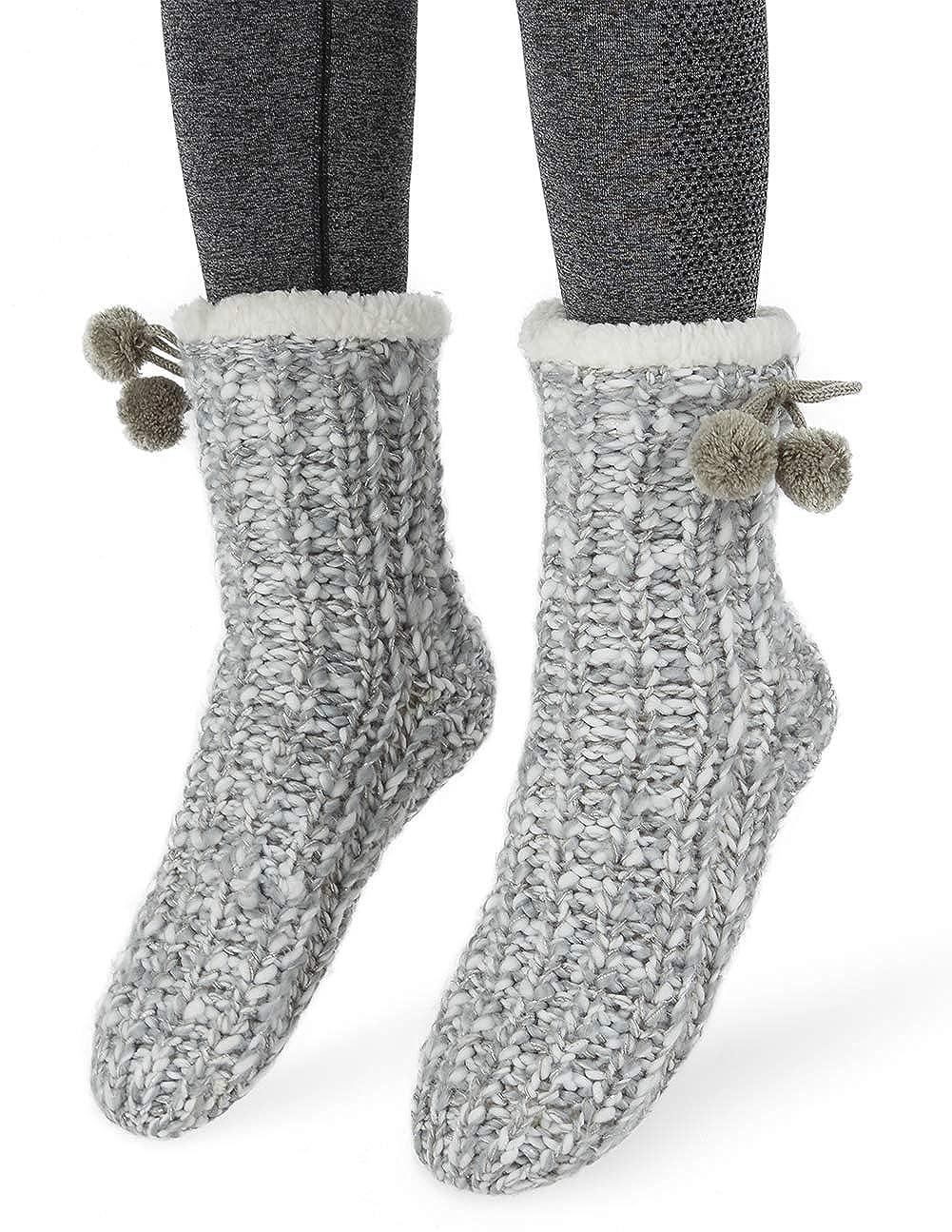 MaaMgic Donna Calze a pantofola inverno Tenere caldo antiscivolo Femmina Floor Calze calze invernali carine 1813071033500
