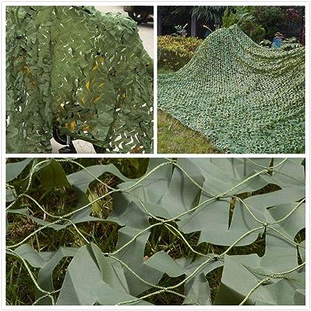 Ejército Red De Camuflaje Verde Cámping Lona Tienda Malla Protector Solar Malla De Sombra Jardín Cubierta De Cubierta Para Sombra Pérgola Mirador Decoracion Fiesta Caza Disparo 2m 4m 5m 6m 8m 10m: