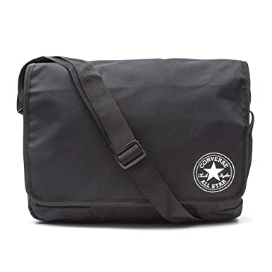 7064645d24 Converse Flap Reporter Poly Bag Black CV410939 - 018  Amazon.co.uk  Clothing