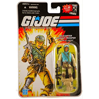 "G.I. JOE Hasbro 3 3/4\"" Wave 11 Action Figure Airborne (Helicopter Assault Trooper): Toys & Games [5Bkhe0505675]"