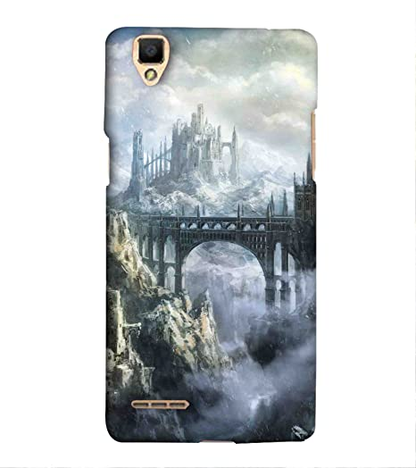 official photos 45c47 75f76 For Oppo F1 Printed Back Case; 3D Printed Designer Back: Amazon.in ...