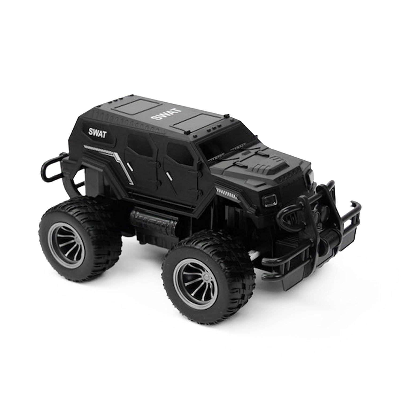 Komplett-Set Jeep Truck Modell im 1//16 Ma/ßstab 2.4GHz RC ferngesteuerter Off-Road SWAT Streifenwagen Polizei Police Sondereinsatzkommando Gel/ändewagen Auto Fahrzeug