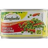 Bonduelle - Piselli E Carotine, Contorno Di Verdure Subito Pronto - 8 pezzi da 400 g [3200 g]
