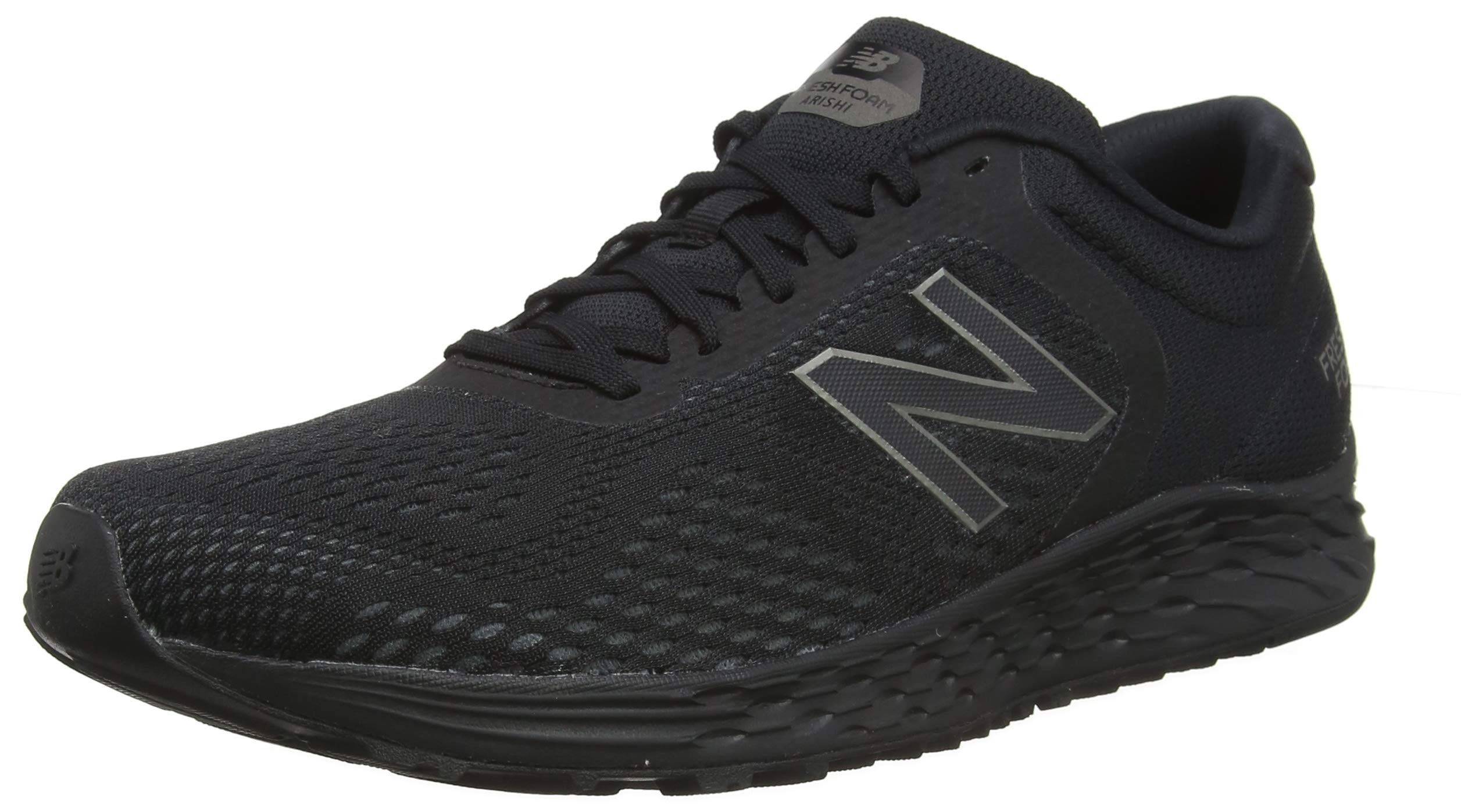 New Balance Men's Arishi V2 Fresh Foam Running Shoe, Black, 8.5 D US
