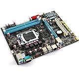 Beyang P55 placa base Micro ATX Socket: LGA1156 DDR3 USB 2.0 apoyo Core i7/i5/i3 Chipset: Intel P55