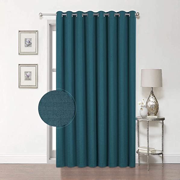 Premium Soft Sliding Glass Door Curtains
