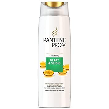 Pantene Pro V Glatt Seidig Shampoo 6er Pack 6 X 250 Ml Amazon