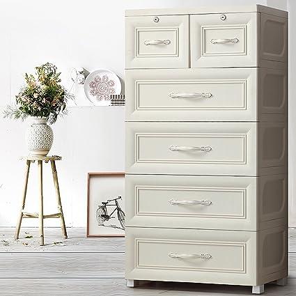 amazon com european style drawer storage cabinet large plastic