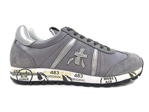 PREMIATA Lucy 3425 Sneaker Donna Grigia Silver, 38: MainApps