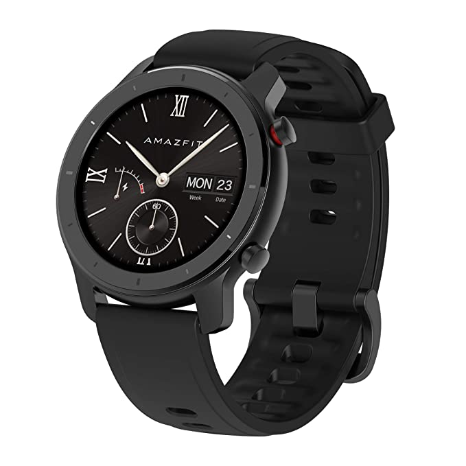Amazfit GTR A1910 42 - Smartwatch (42 mm), Color Negro: Amazon.es ...