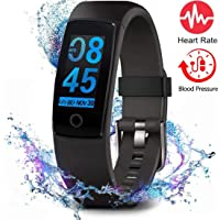 MorePro Fitness Tracker Waterproof Activity Tracker with Heart Rate Blood Pressure...