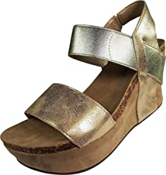 Pierre Dumas Womens Hester-1 Wedge Sandals