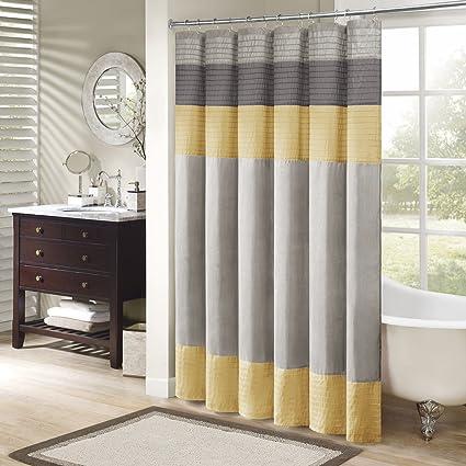 Amazoncom Madison Park Mp70 2489 Amherst Shower Curtain 72x72