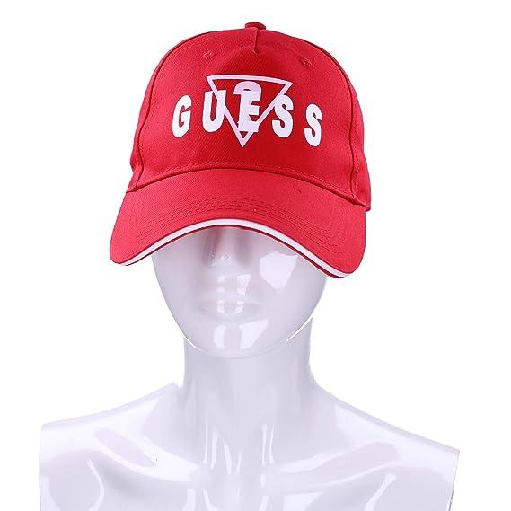 Guess AW8073COT01 - Gorro para Mujer, Color Rojo Rojo M: Amazon.es ...