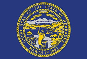 Toland Home Garden Nebraska State Flag 12.5 x 18 Inch Decorative USA Garden Flag