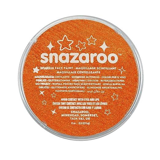 110 opinioni per Snazaroo- Colore da trucco per travestimento, 18 ml, Arancione brillante