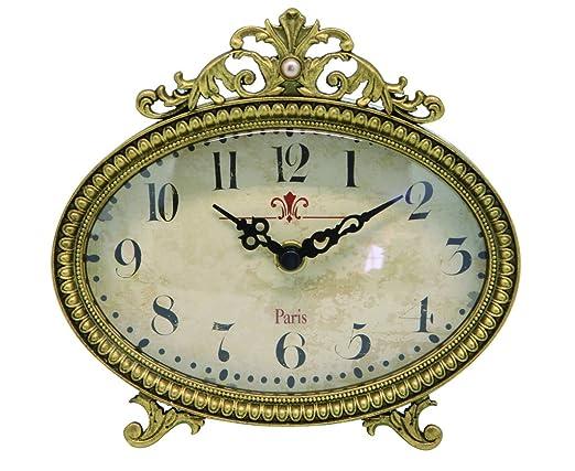 Nikky Home reloj de mesa con Vintage Design cuarzo analógico ...