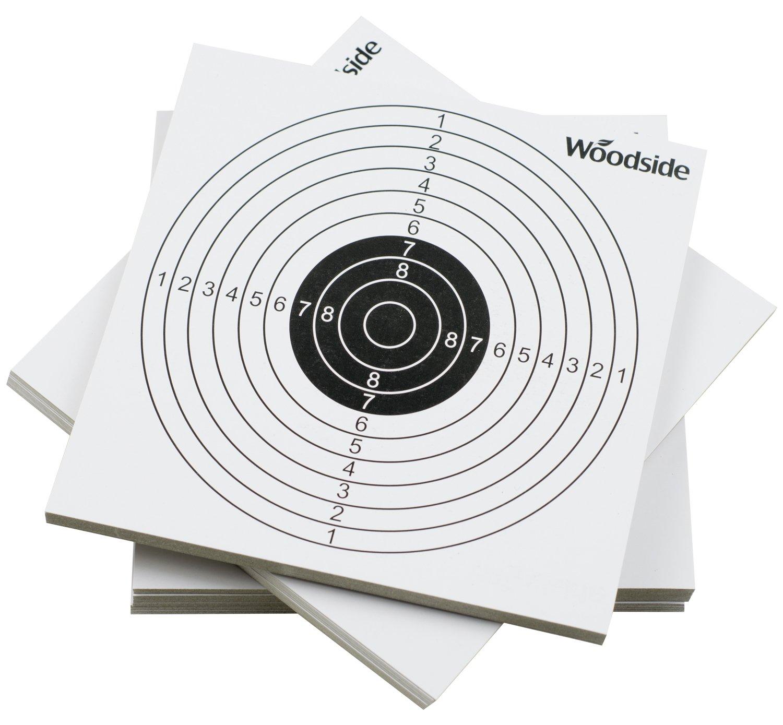 14 cm Woodside Kugelfangtrichter f/ür Zielscheiben beim Luftgewehrschie/ßen mit 100 Zielscheiben