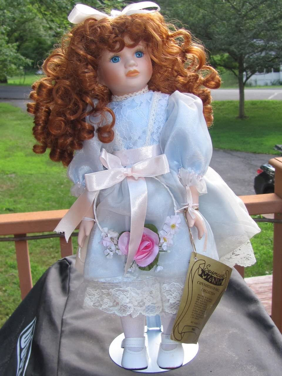"Amazon.com: Seymour Mann Missy 5"" Hand Painted Porcelain Doll"